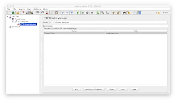jmeter http header manager