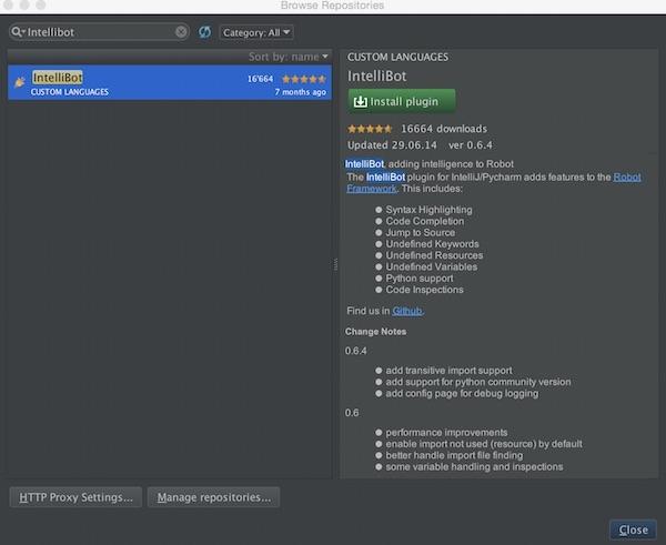 PyCharm and Robot Framework | - Softwaretester -