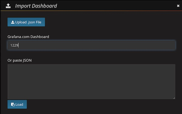 Grafana Dashboard Search