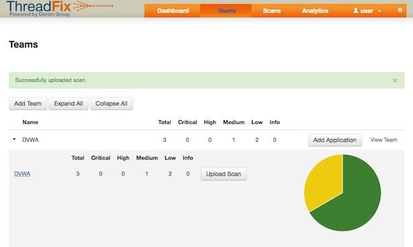 Import XML report