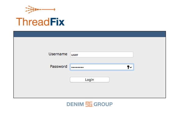ThreadFix login