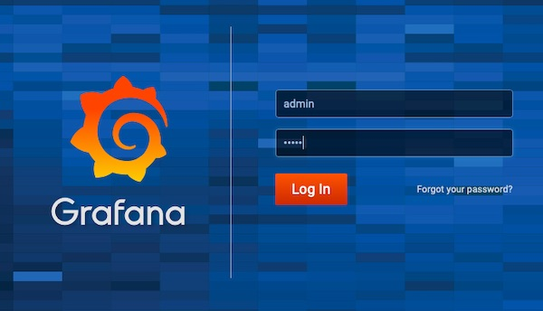 New Grafana Login