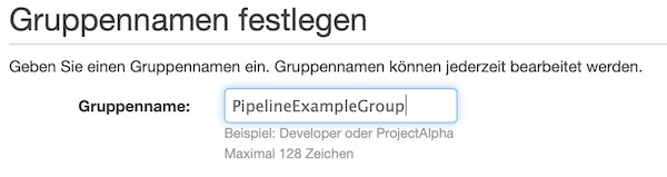 AWS IAM group name