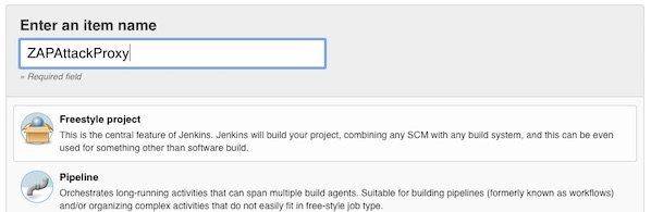 Create new Jenkins Freestyle Project
