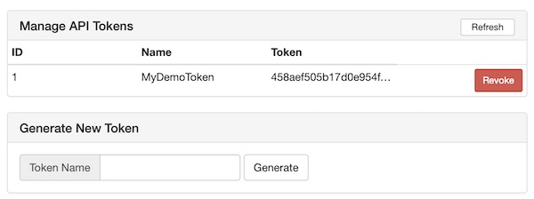 Wifi Pineapple generate API token